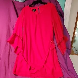 Red By & By blouse size medium